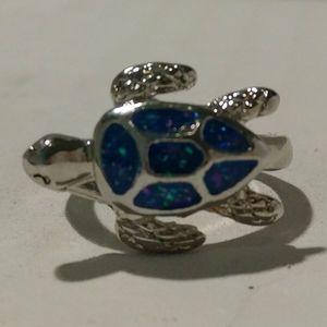 Sea Turtle Ring- new